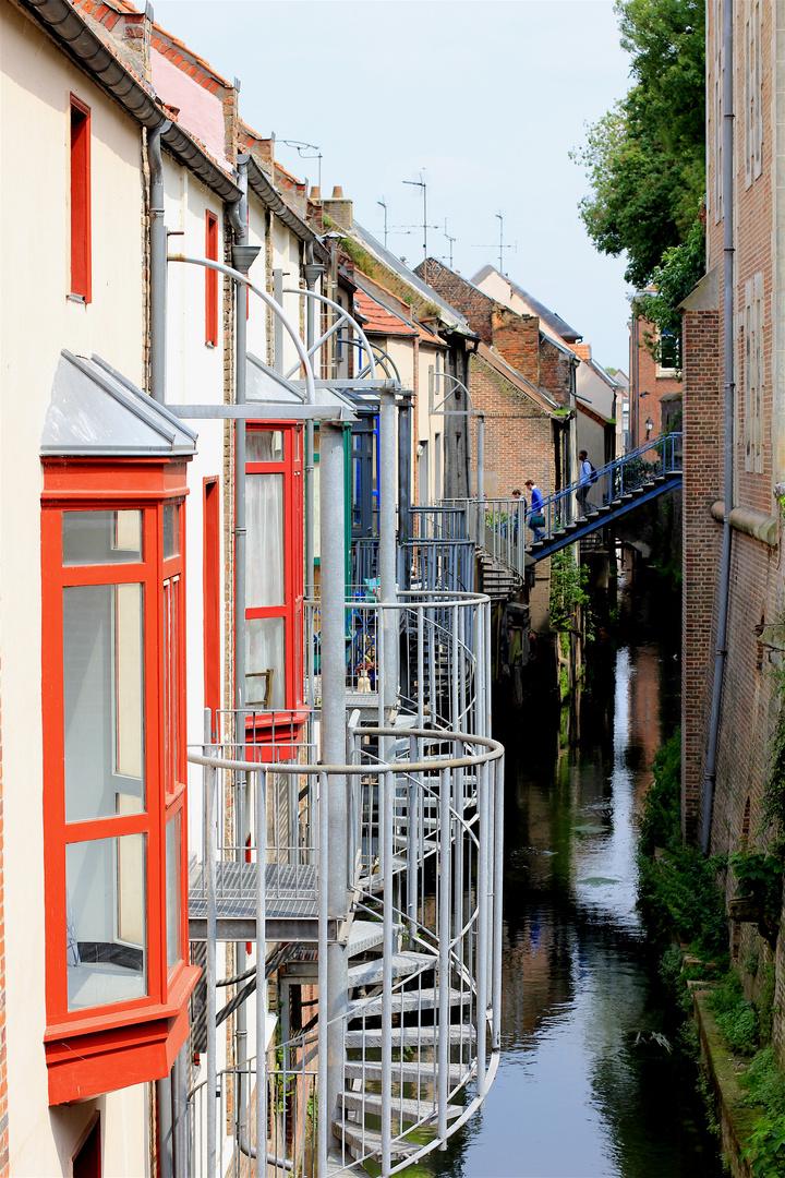 Saint Leu à Amiens et ses nombreux canaux