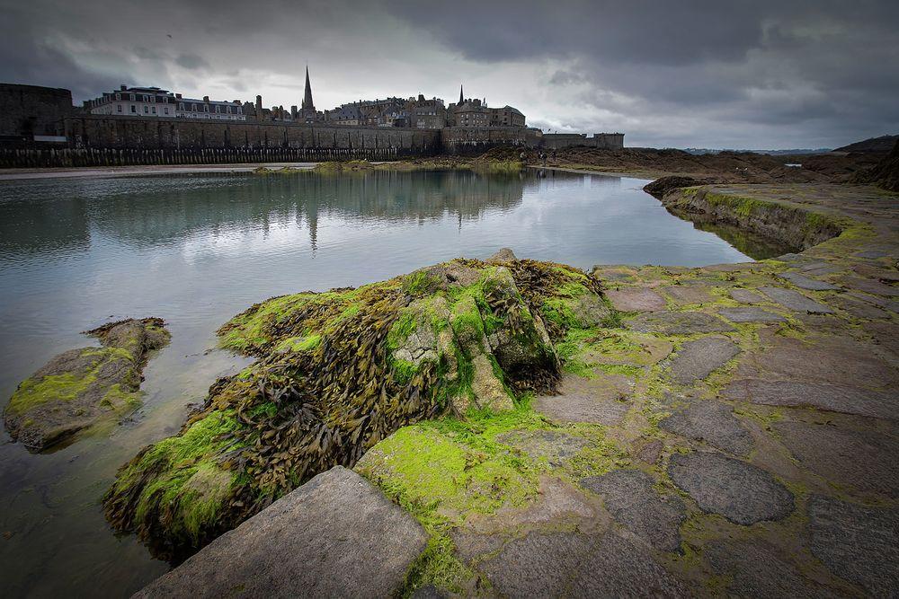 Saint-Malo, Plage de l'Éventail