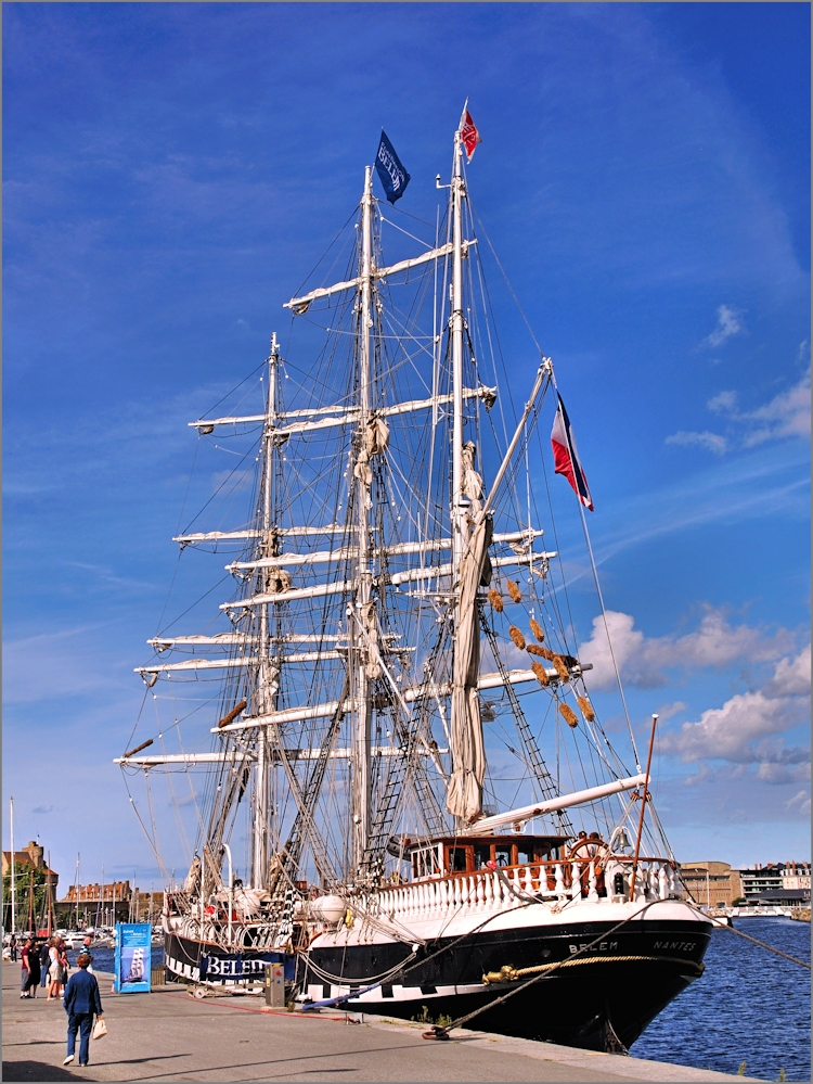 Saint Malo - Segelschiff