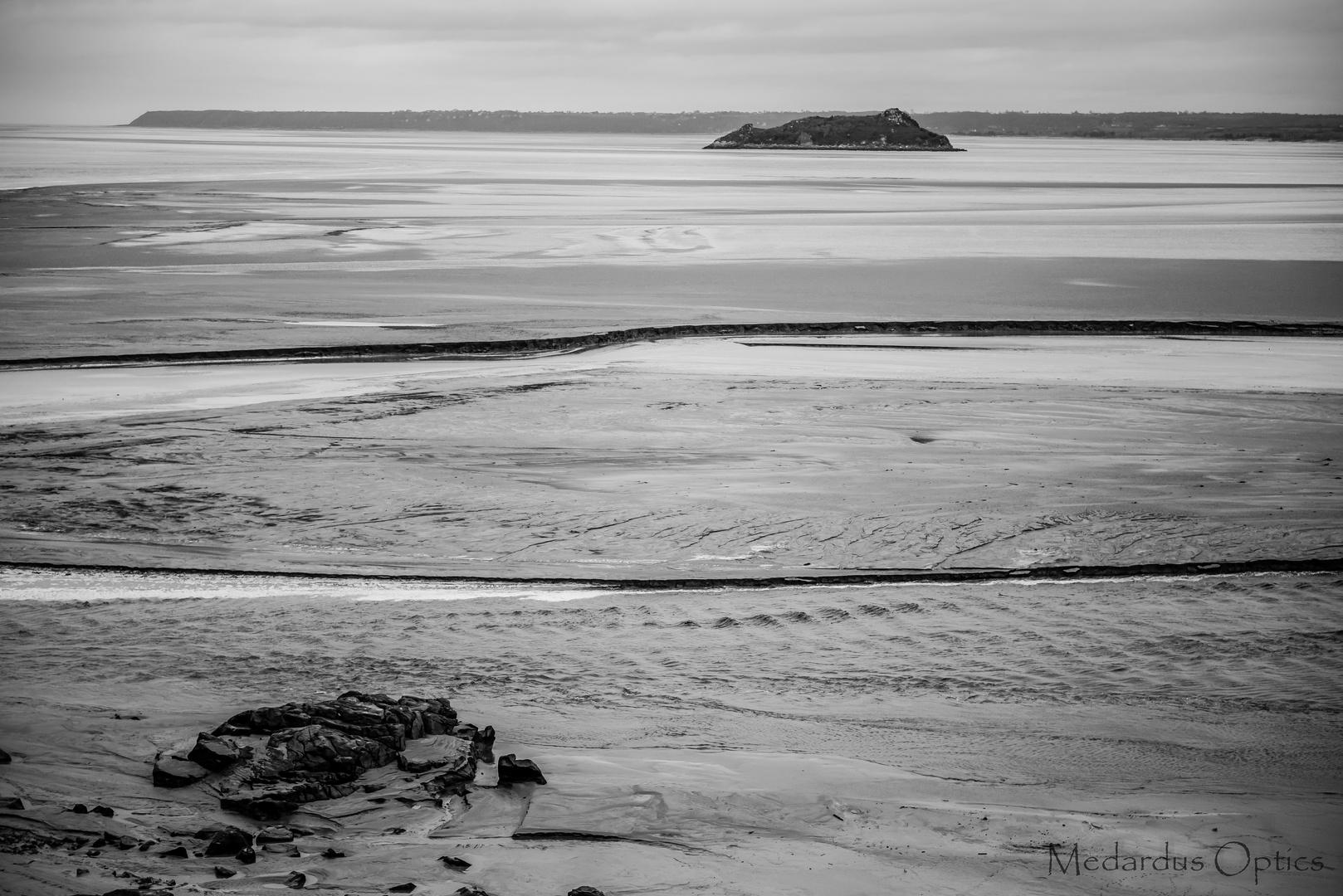 Saint Michel beach view