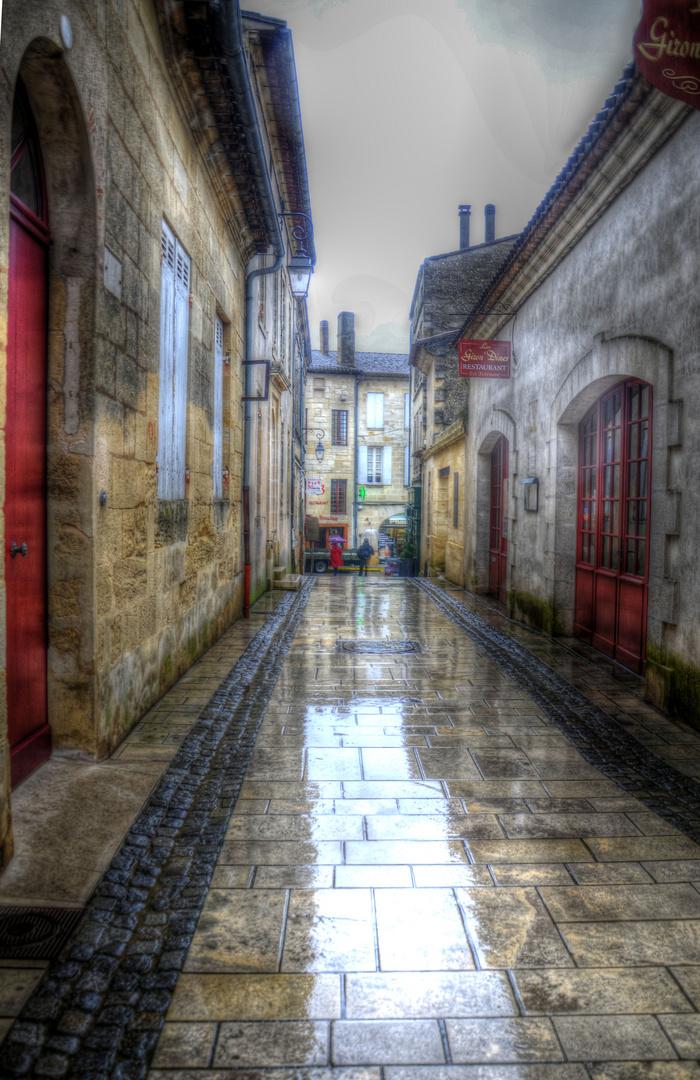"""Saint Émilion """"un jour de pluie"""""""