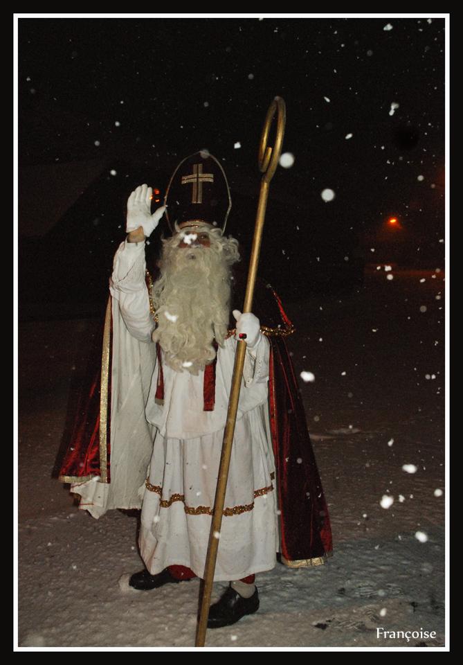 Saint Nicolas sous la neige