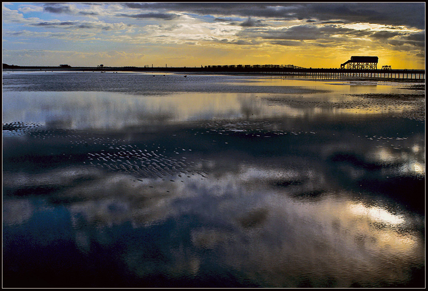 saint peter ording in special light