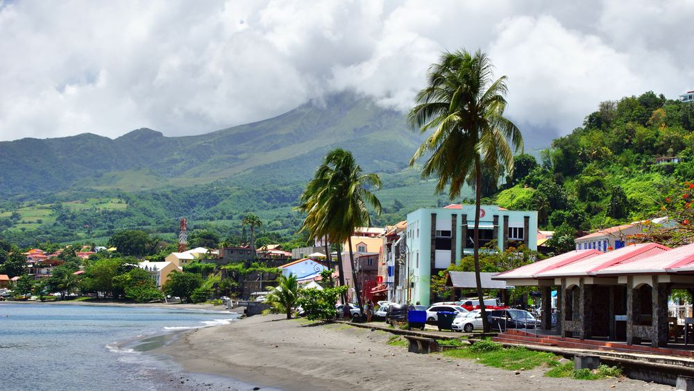 Saint-Pierre auf Martinique