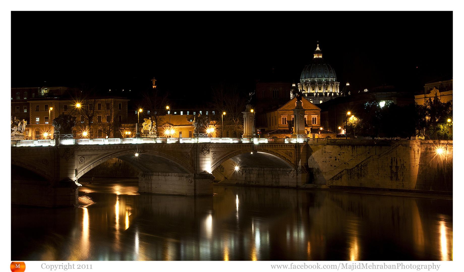 Saint Pietro @ night