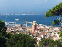 Saint Tropez im Oktober