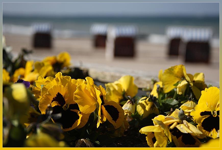Saisonbeginn an der Ostsee
