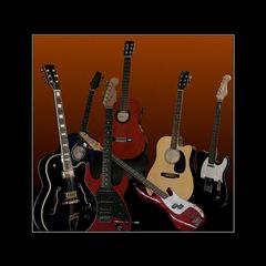 Saiten, mit und ohne Stecker - Strings, plugged and unplugged