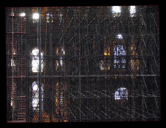 sakraler Gerüstbau - Hagia Sophia oder doch Borg?