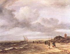 Sal. van Ruysdael Egmond-an-Zee