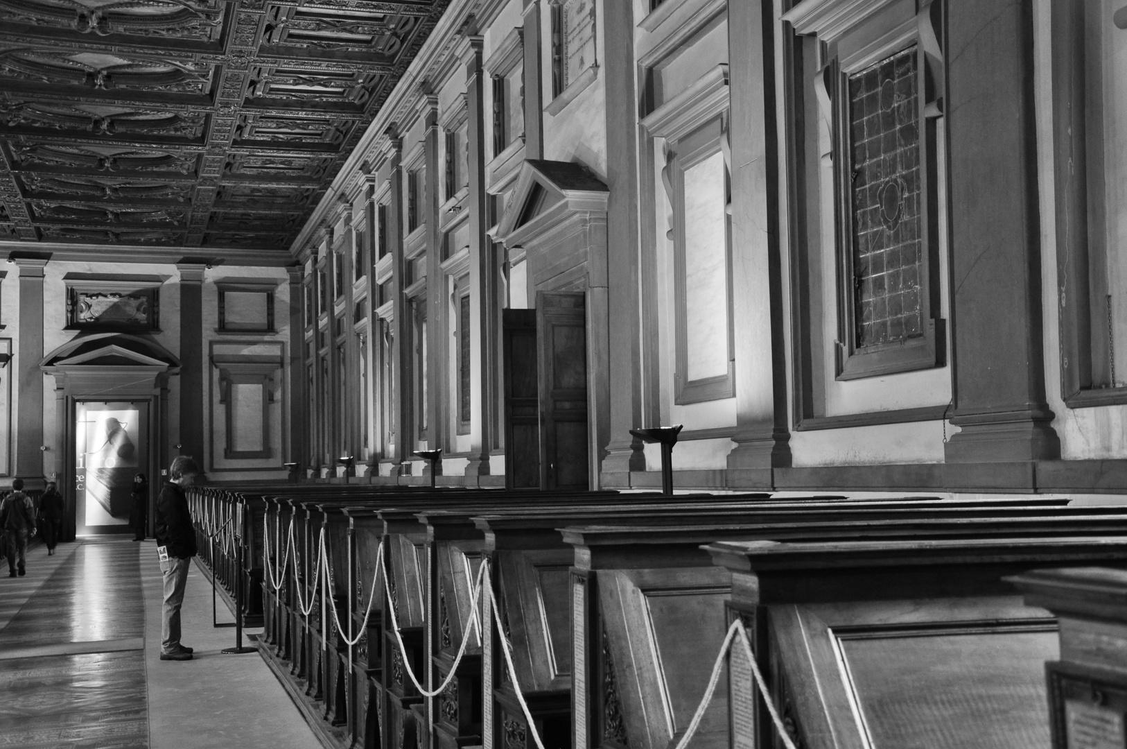 Sala da lettura - Firenze