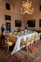 Sala da pranzo, palazzo Borromeo dell'Isola Madre