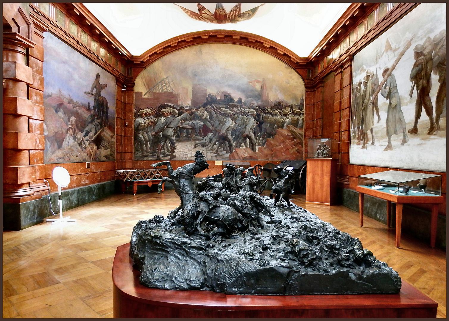 Sala della I Guerra Mondiale.