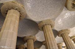 Sala Hipostila - 100 Säulen im Park Güell
