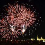 Salamanca - Feuerwerk