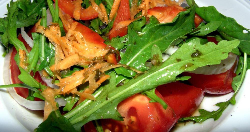 Salat der Farben