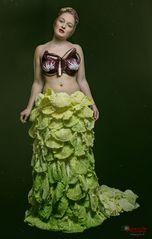 Salat Kleid