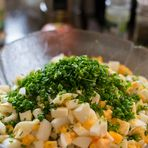 Salat ohne Sauce