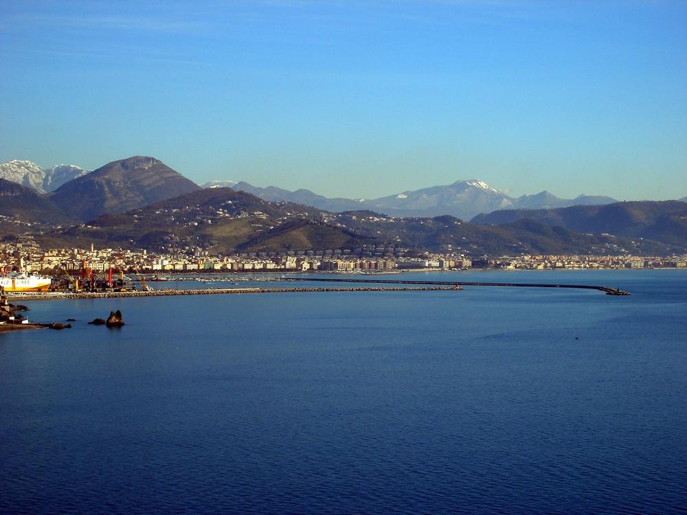 """Salerno vista dalla curva di """"ERCHIE"""""""
