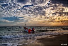 Saliendo a la mar