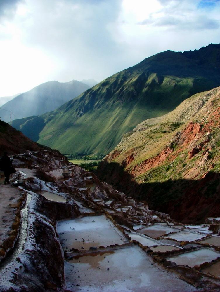 SALINAS de MARAS en PERU