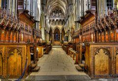 - Salisbury Cathedral (Hauptschiff)