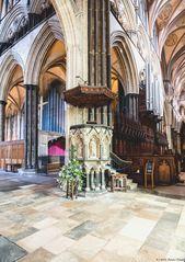 - Salisbury Cathedral (Kanzel) -