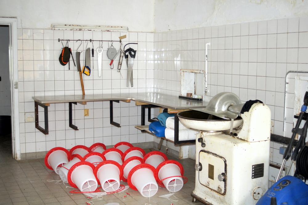 Salmonellen? alte Küche in Dänemark