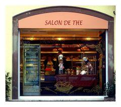 Salon de The, Lauterbourg . Frankreich