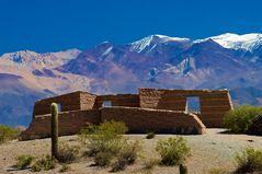 Salta Region irgendwo in den Anden