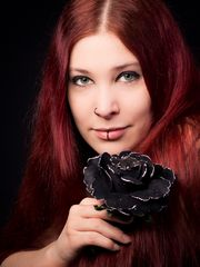 Salubed & black rose