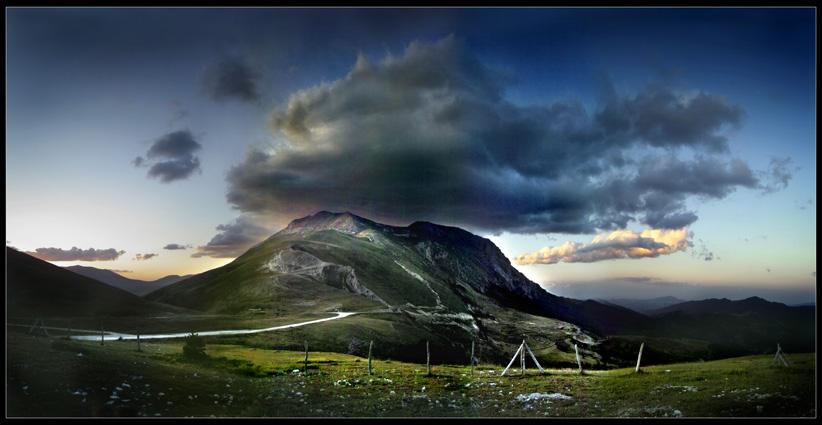 saluti a tutti...dal Monte Vettore