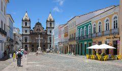 SALVADOR DE BAHIA . . . der historische Altstadtkern