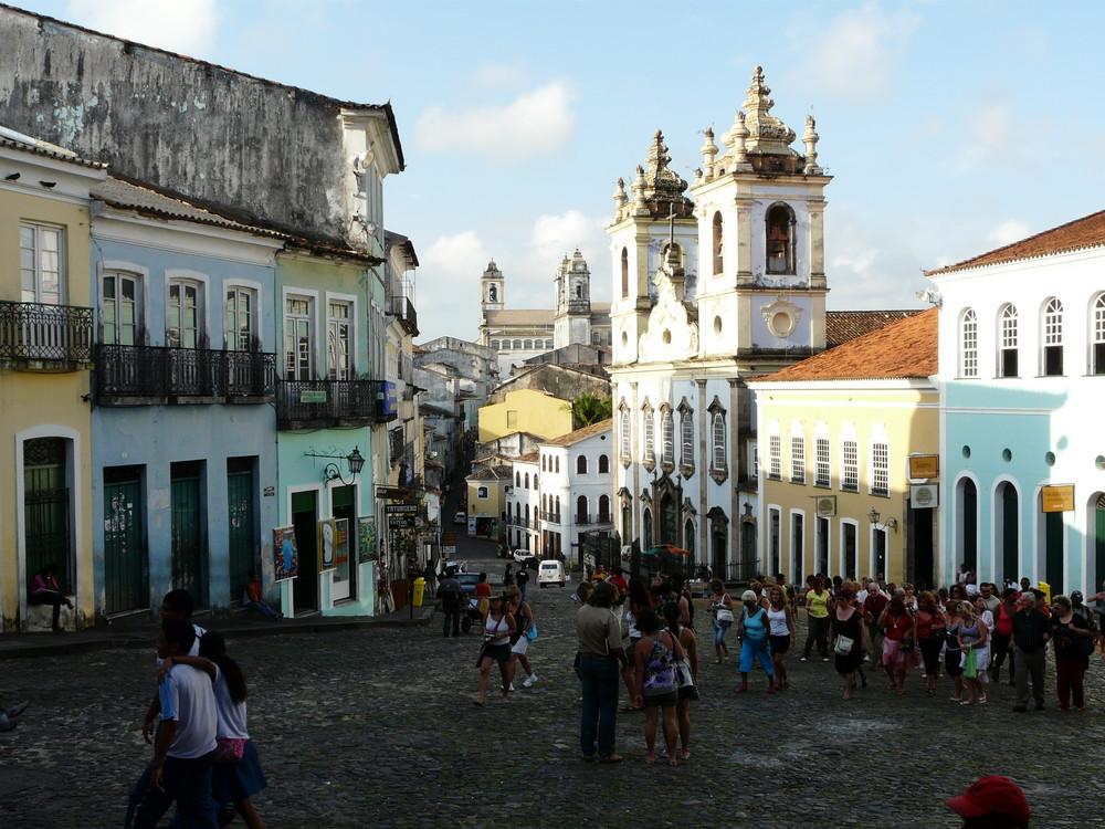 Salvador der Bahia - El Pelourinho-