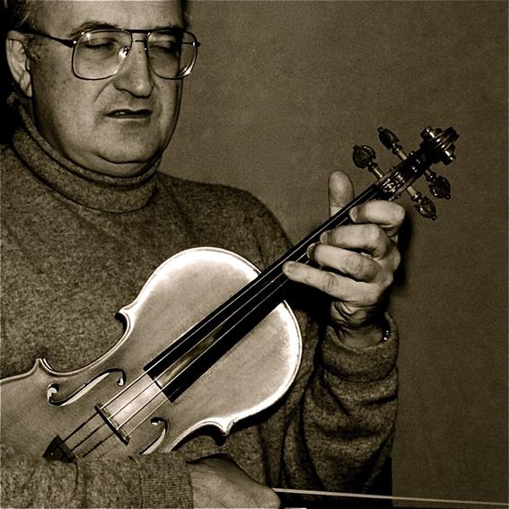 Salvatore Accardo - ritratto di Augusto De Luca