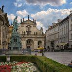 Salvatorkirche (Prag) - Kreuzherrenplatz - 2020 .-