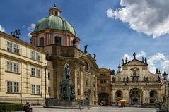 Salvatorkirche (Prag) - Kreuzherrenplatz  -