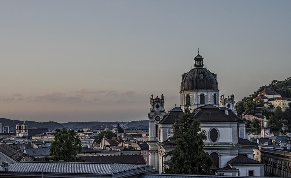 Salzburg am Abend