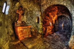 Salzburg Katakomben am Petersfriedhof