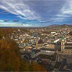 Salzburg lag zu meinen Füßen ...