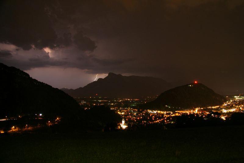 salzburg, nachts