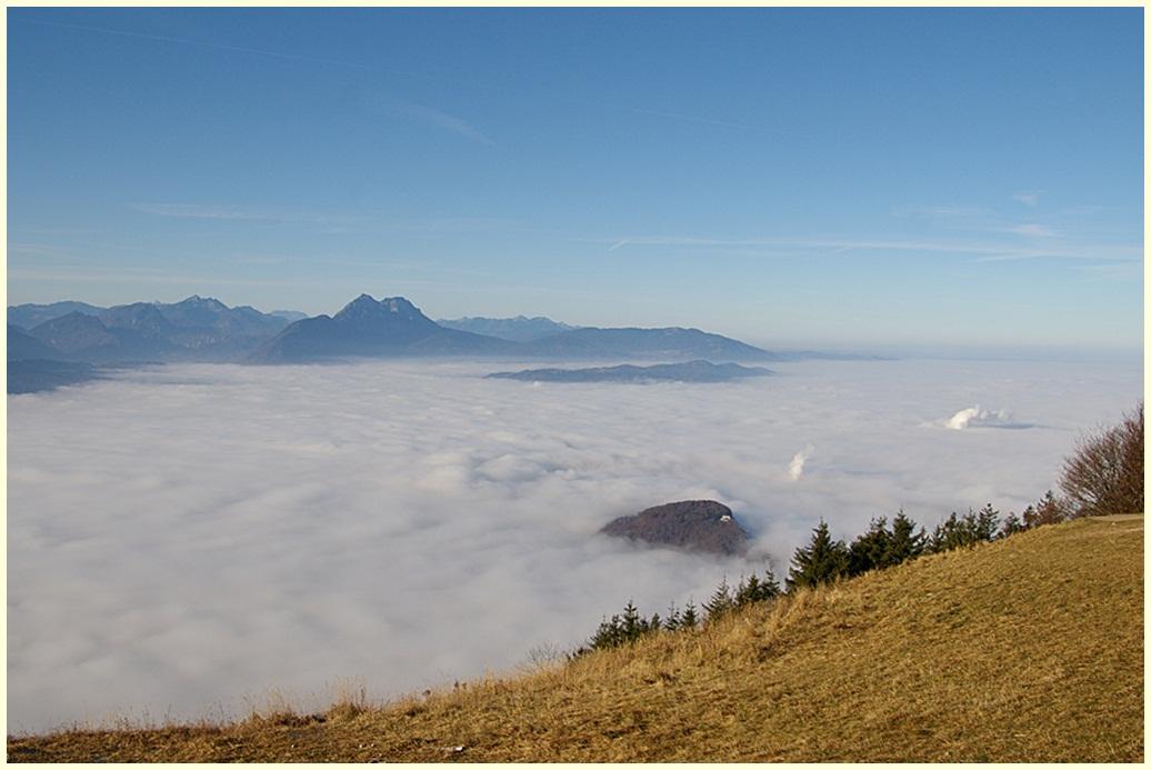 Salzburg und das Nebelmeer