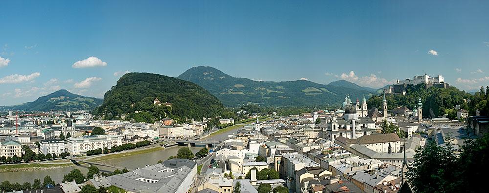Salzburg vom Mönchberg