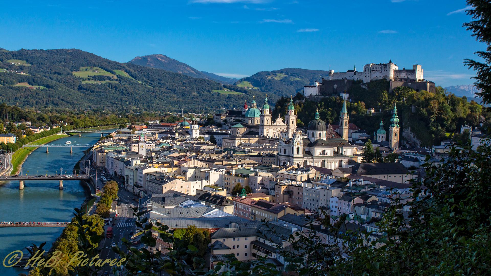 Salzburg von seiner schönsten Seite