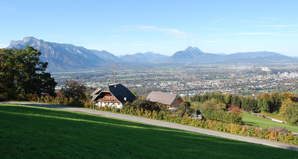 Salzburgblick von Südost