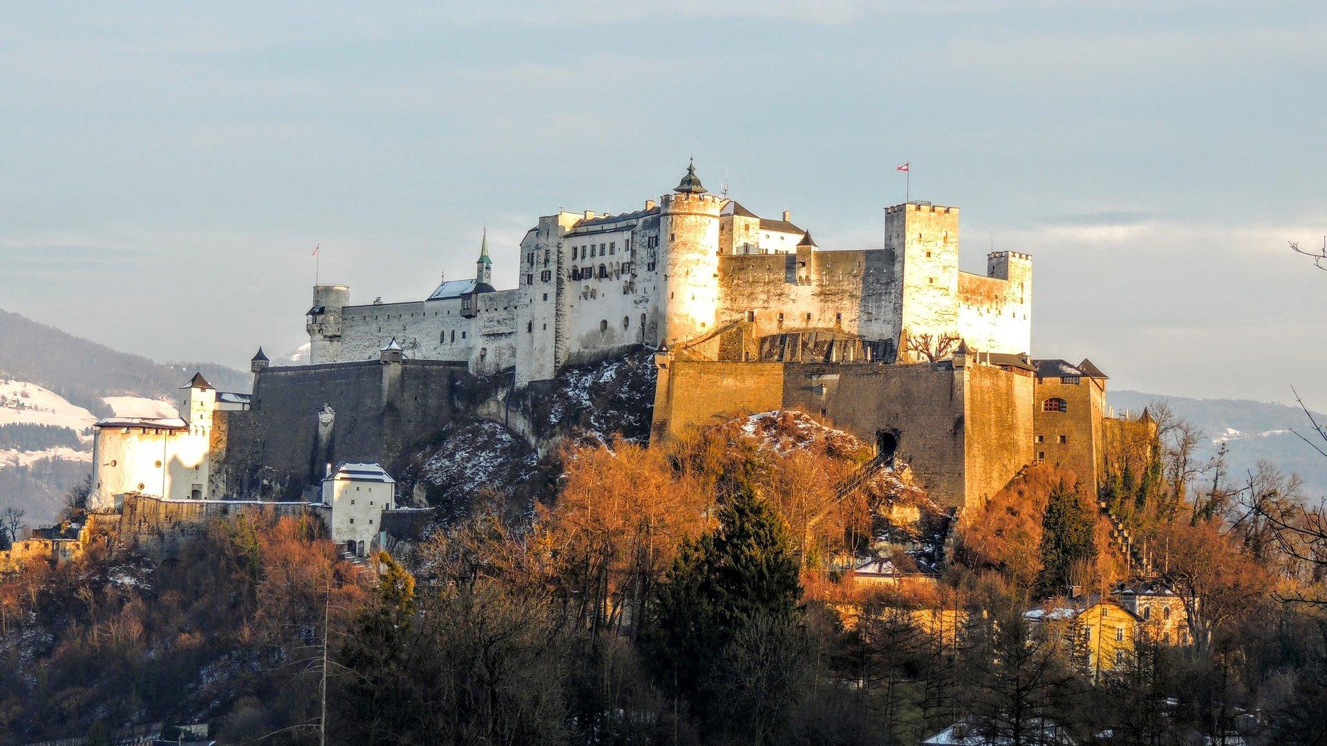 Salzburger Festung im Herbst