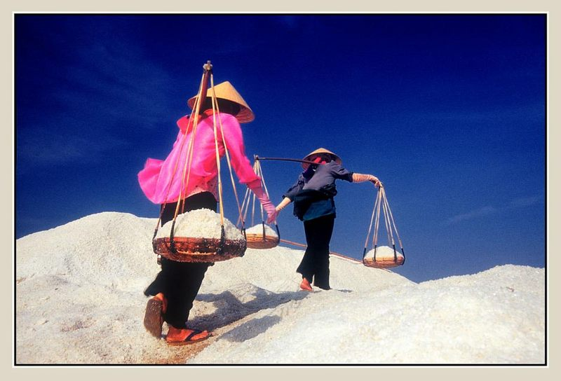 Salzträgerinen-Phan Thiet,Vietnam