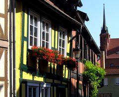 Salzwedel, in der Altstadt