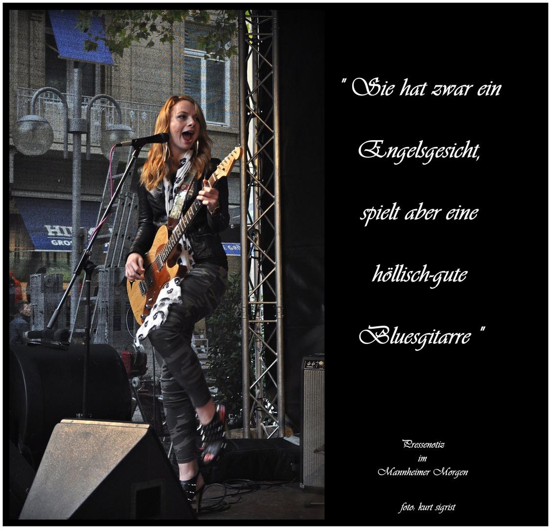 Samantha Fish, US Bluesgitarristin