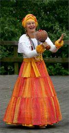 Samba-Darbietung bei den Kulturtagen in Wetzlar